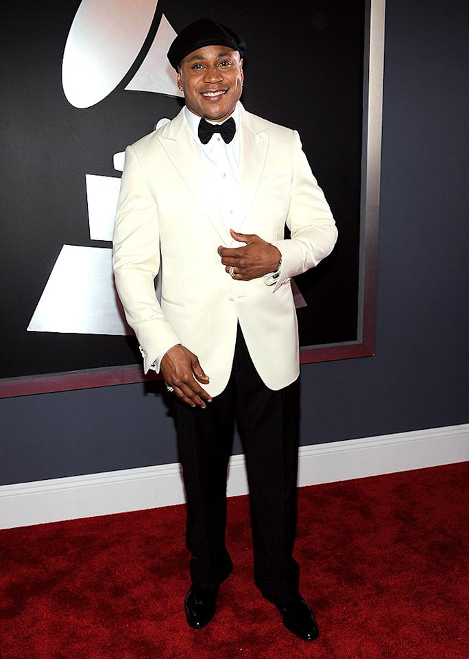 LOS ANGELES, CA - FEBRUARY 10:  LL Cool J attends the 55th Annual GRAMMY Awards at STAPLES Center on February 10, 2013 in Los Angeles, California.  (Photo by Kevin Mazur/WireImage)