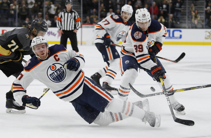 Marchessault S Goal Leads Golden Knights Over Oilers 3 1