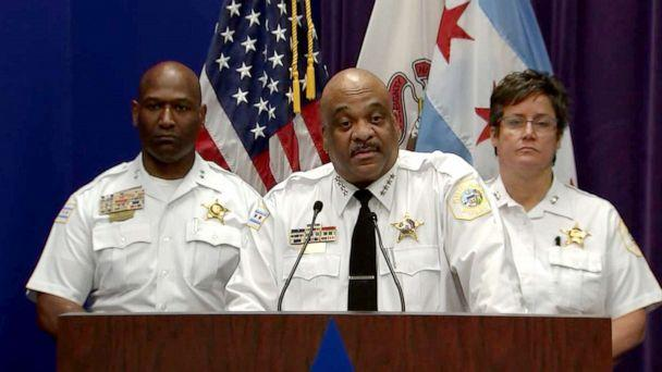 PHOTO: Chicago police Superintendent Eddie Johnson addresses a press conference on July, 25, 2019. (WLS)