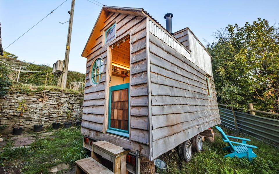 Florence Hamer had an initial budget of £5,000 to build her home - Living Big in a Tiny House