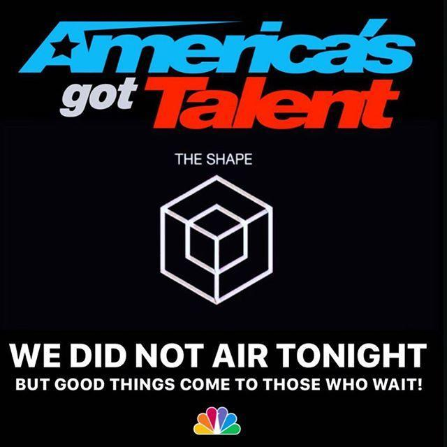"<p>At this point, we have little information on The Shape, other than the fact that they'll appear in the live shows and, according to a <a href=""https://urldefense.com/v3/__https://www.nbcumv.com/news/**Bamerica**Bs-got-talent**B-reveals-top-44-acts-headed-season-15-live-shows-starting-tuesday-aug-11?show=151369__;4oCY4oCZ4oCZ!!Ivohdkk!xAxfQ4CclD1ig1RDOCXFO85VZkwKbCGaFAOBiYp8XWka7Omj8vy-412TV8LIYQ$"" rel=""nofollow noopener"" target=""_blank"" data-ylk=""slk:press release"" class=""link rapid-noclick-resp"">press release</a>, they're classified as a dance crew. Curious, indeed ... </p><p><a href=""https://www.instagram.com/p/CDNiwLJl7Xy/"" rel=""nofollow noopener"" target=""_blank"" data-ylk=""slk:See the original post on Youtube"" class=""link rapid-noclick-resp"">See the original post on Youtube</a></p>"