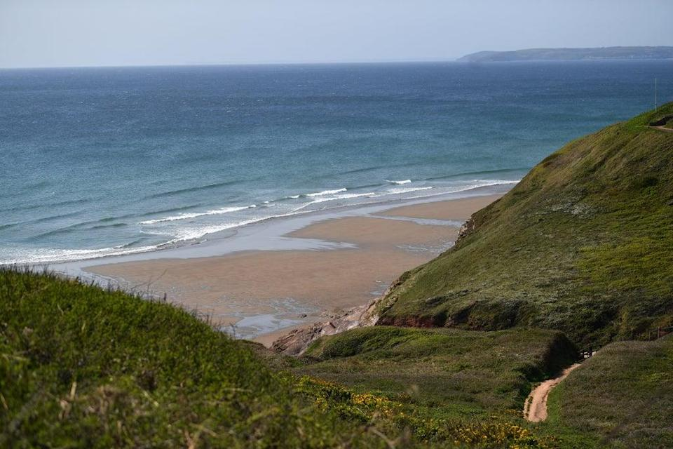 Two divers are presumed dead after failing to resurface from a dive in Whitsand Bay, Cornwall (Getty Images)