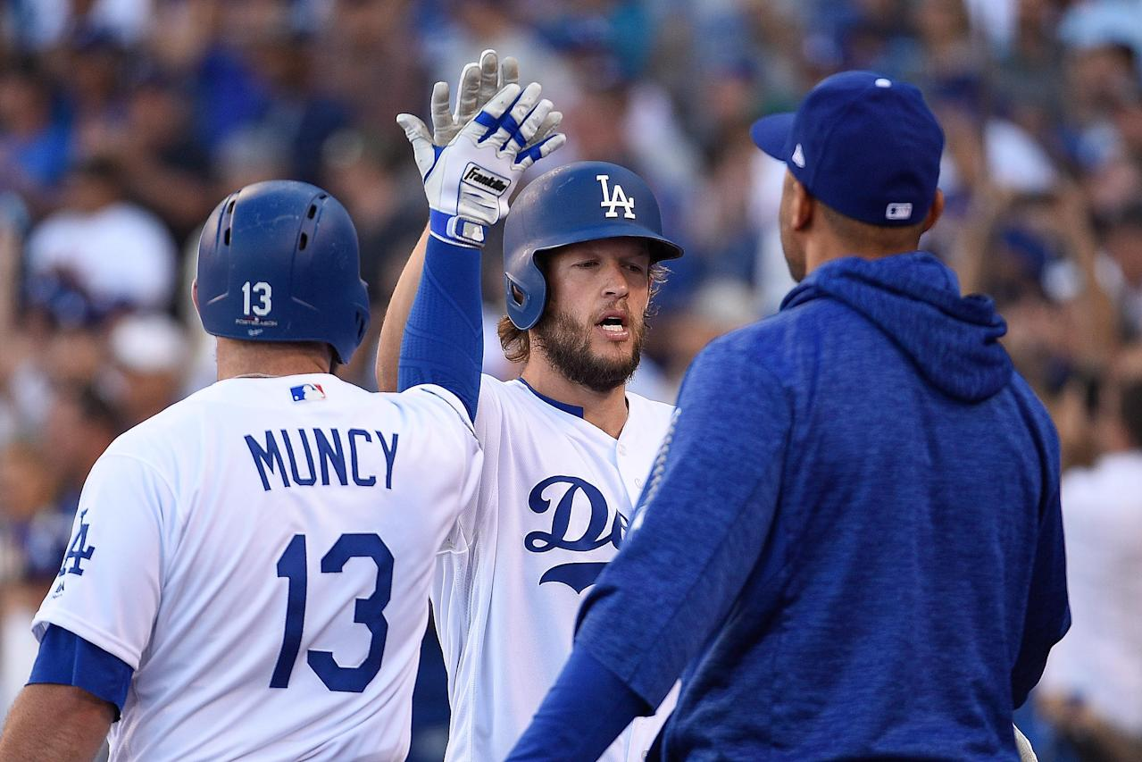 NLCS Game 5: Dodgers one win from World Series after Clayton Kershaw's gem vs. Brewers