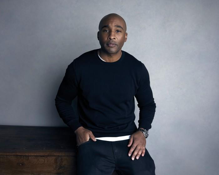 """""""Things are never going to change until we have Black partners at the big talent agencies and Black people in positions to greenlight movies,"""" said independent film producer Datari Turner, shown here for a portrait to promote the film, """"A Boy. A Girl. A Dream: Love on Election Night"""", at the Music Lodge during the Sundance Film Festival on Sunday, Jan. 21, 2018, in Park City, Utah. (Photo by Taylor Jewell/Invision/AP)"""