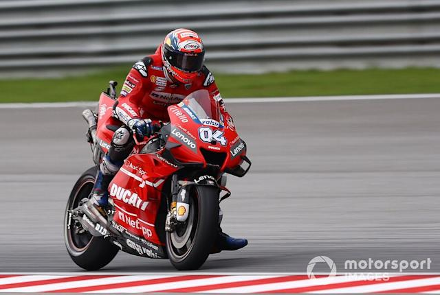 "Andrea Dovizioso: 1 control <span class=""copyright"">Gold and Goose / Motorsport Images</span>"