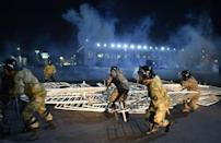 The health ministry said in a statement that 120 people were injured during the violence
