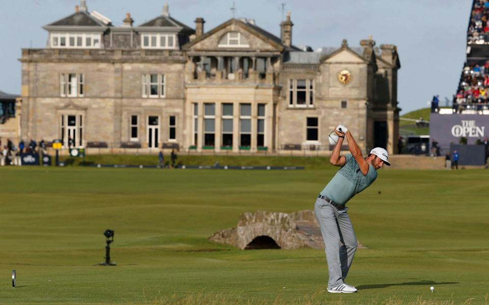 The 18th hole at St Andrews - REUTERS
