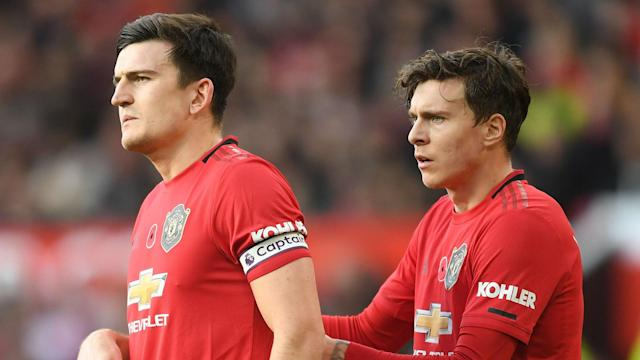 Harry Maguire Victor Lindelof Manchester United 2019-20