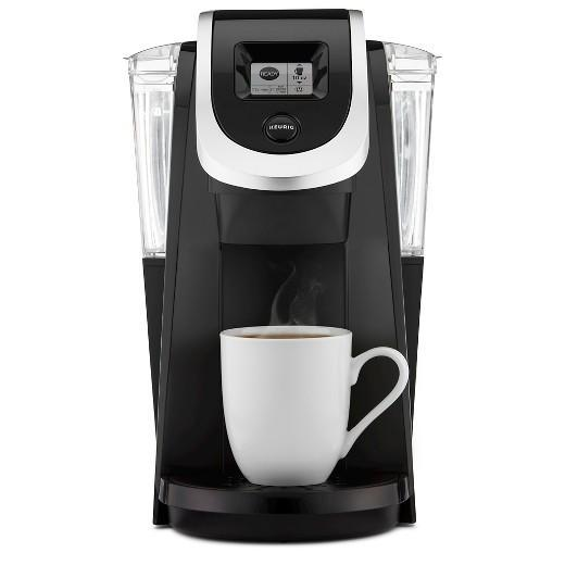 "<p>As the saying goes, ""But first, coffee."" This posh coffee maker creates a single serving of brew to get moms through the long days. Don't forget to pick up a pack of K-Cups! Keurig 2.0 K200 Coffee Maker Brewing System, $99, <a href=""http://www.target.com/p/keurig-174-2-0-k200-coffee-maker-brewing-system/-/A-17262041"" rel=""nofollow noopener"" target=""_blank"" data-ylk=""slk:target.com"" class=""link rapid-noclick-resp"">target.com</a> </p>"