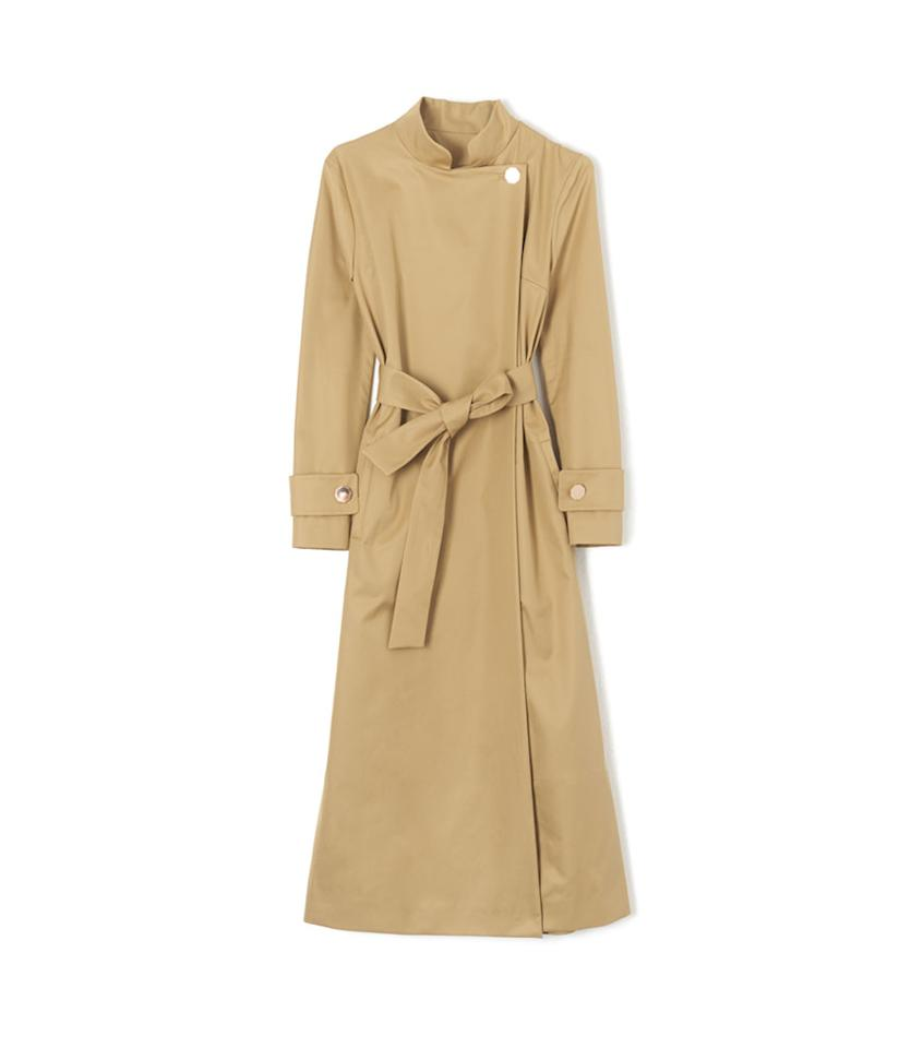 "<p>Perfect 5 Nura Cotton-Twill Trench Coat, $988, <a rel=""nofollow"" href=""http://www.matchesfashion.com/us/products/Osman-Perfect-5-Nura-cotton-twill-trench-coat-1081249"">matchesfashion.com</a> </p>"