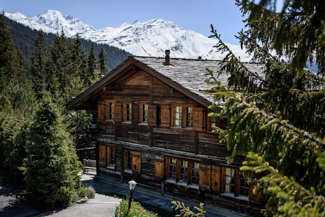 Andrew and his ex-wife have owned the chalet Helora in Verbier since 2014 but reportedly failed to pay off a chunk of what they owe on the luxury holiday home. (Picture: Fabrice COFFRINI/AFP via Getty Images)