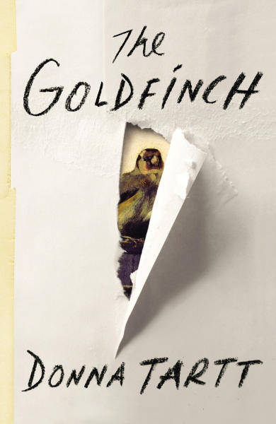 "This photo provided by Little, Brown and Company shows the book cover of ""The Goldfinch,"" by Donna Tartt. Tartt won the Pulitzer Prize for fiction on Monday, April 14, 2014. (AP Photo/Little, Brown and Company)"