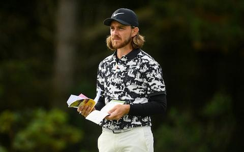 Tommy Fleetwood at Portrush - Credit: Getty Images