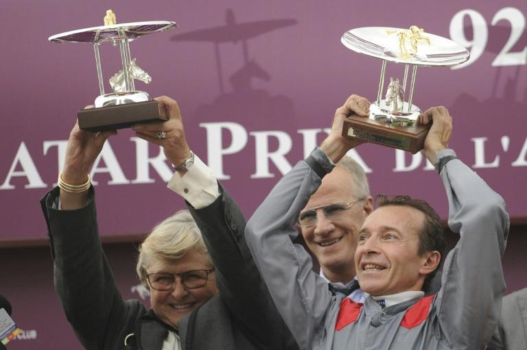 Criquette Head (L) trained Treve to win two successive Prix de l'Arc de Triomphes a race her family are indelibly linked with her brother four-time winning jockey Freddy told AFP (AFP/FRED DUFOUR)