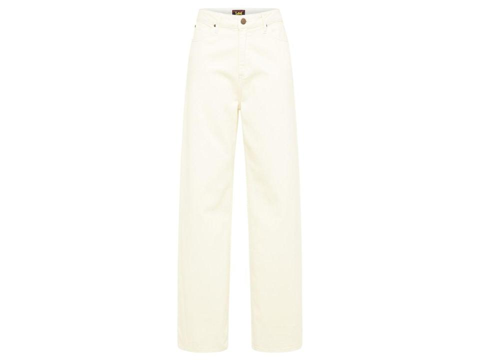 """<p>Light-coloured jeans are ideal for those looking to dress in their favourite spring colour palette, whilst also keeping warm.</p><p><a class=""""link rapid-noclick-resp"""" href=""""https://eu.lee.com/uk-en/shop/women/shop-by-category/jeans/stella-a-line-in-ecru-L31SQHYJ.html"""" rel=""""nofollow noopener"""" target=""""_blank"""" data-ylk=""""slk:SHOP NOW"""">SHOP NOW</a></p><p>£75, Lee.</p>"""