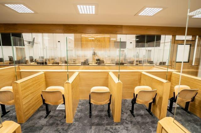 The dock in the super court room