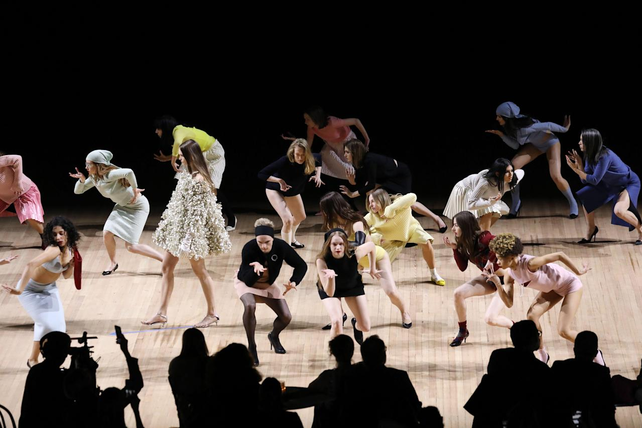 Image result for marc jacobs and 54 dancers new york fashion week