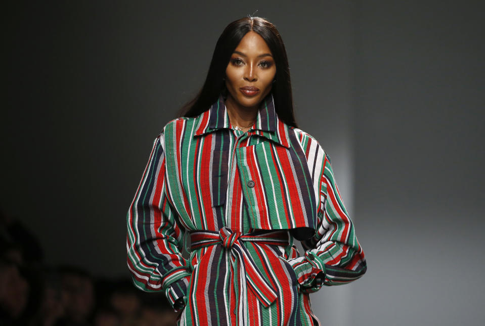 Naomi Campbell addresses racism and how conversations around it need to change in Britain. (Photo: Thierry Chesnot/Getty Images)