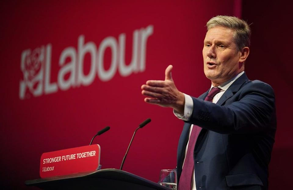 Sir Keir Starmer accused the the Prime Minister of a 'total lack of leadership' (Andrew Matthews/PA) (PA Wire)