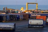 Cuxhaven is hoping that the fact it ships trailers will give it an advantage as drivers won't get held up if there is a customs problem