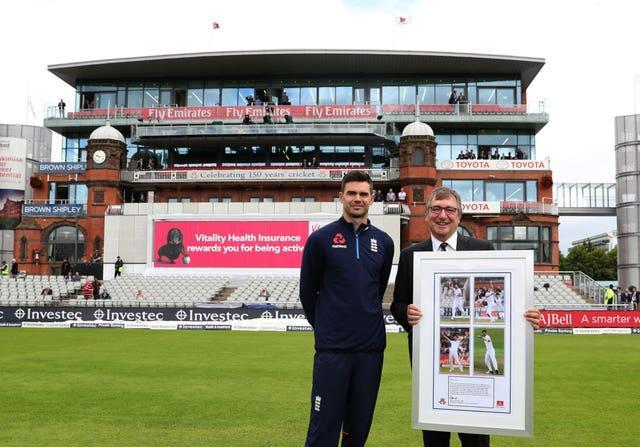 James Anderson will be keen to perform from the James Anderson End.