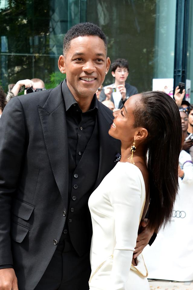 "The smiles from Will and Jada put all divorce rumours to bed at the premiere of ""Free Angela & All Political Prisoners."" With son Jaden and daughter Willow in tow, the Pinkett Smiths were the festival's most fashionable family."