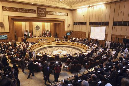 Foreign ministers of the Arab League countries meet in Cairo
