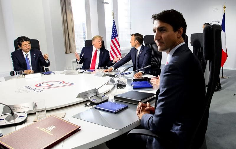 This time, Trudeau keeps low profile at G7 as election campaign looms