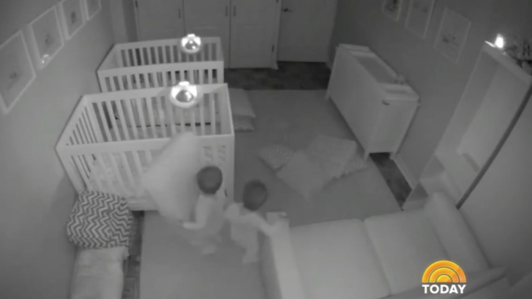 Watch: Toddlers Escape Cribs to Party Hard All Night
