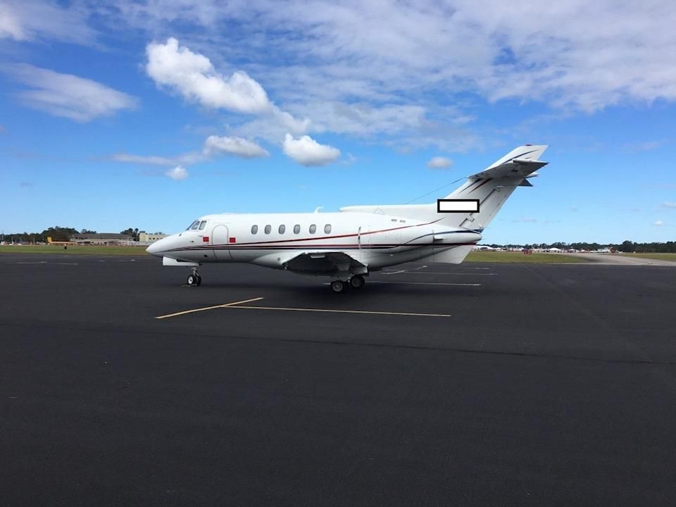 Federal agents seized this private jet after it was used to moved Sinaloa Cartel drugs and bulk case across the U.S.