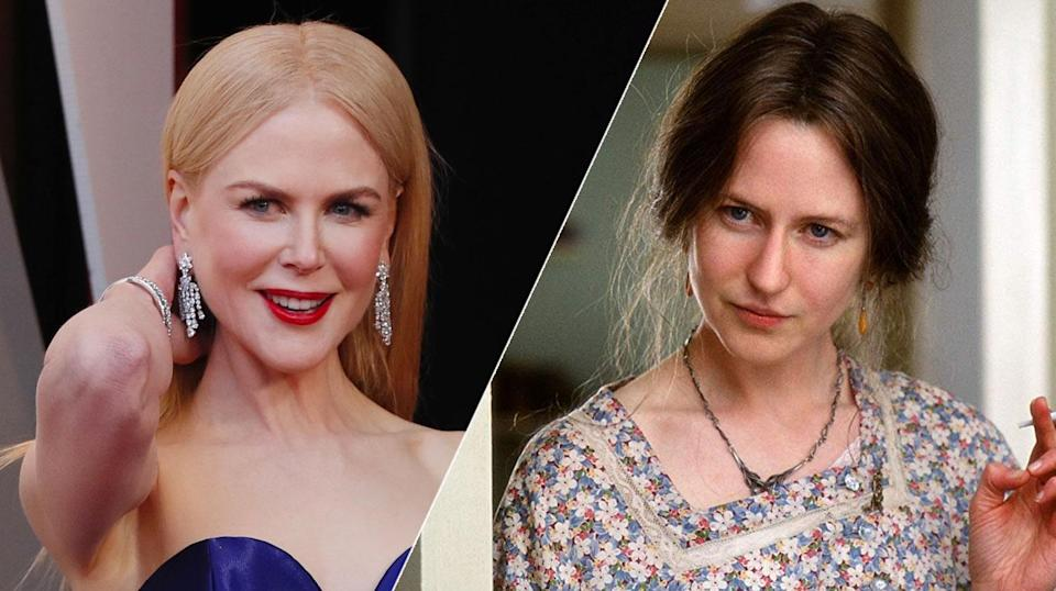 Nicole Kidman went unrecognisable as Virginia Woolf.
