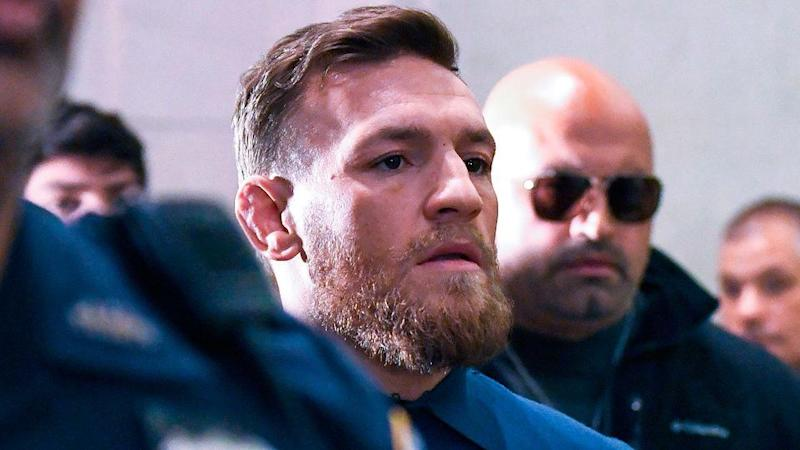 McGregor faces court. Pic: Getty