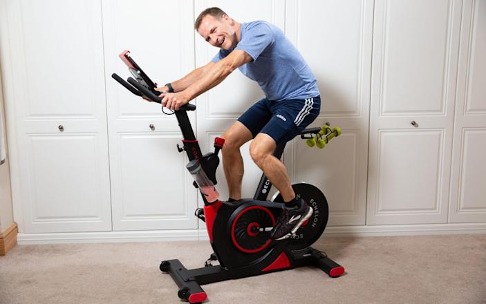 Nick Harding puts the Echelon Connect EX3 smart spin bike though its paces - Jeff Gilbert