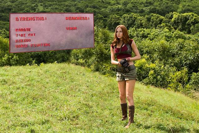 Karen Gillan in 'Jumanji: Welcome to the Jungle' (Sony)
