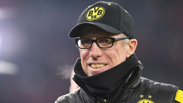 <p>Stoger will stay at Dortmund if 'everything fits'</p>
