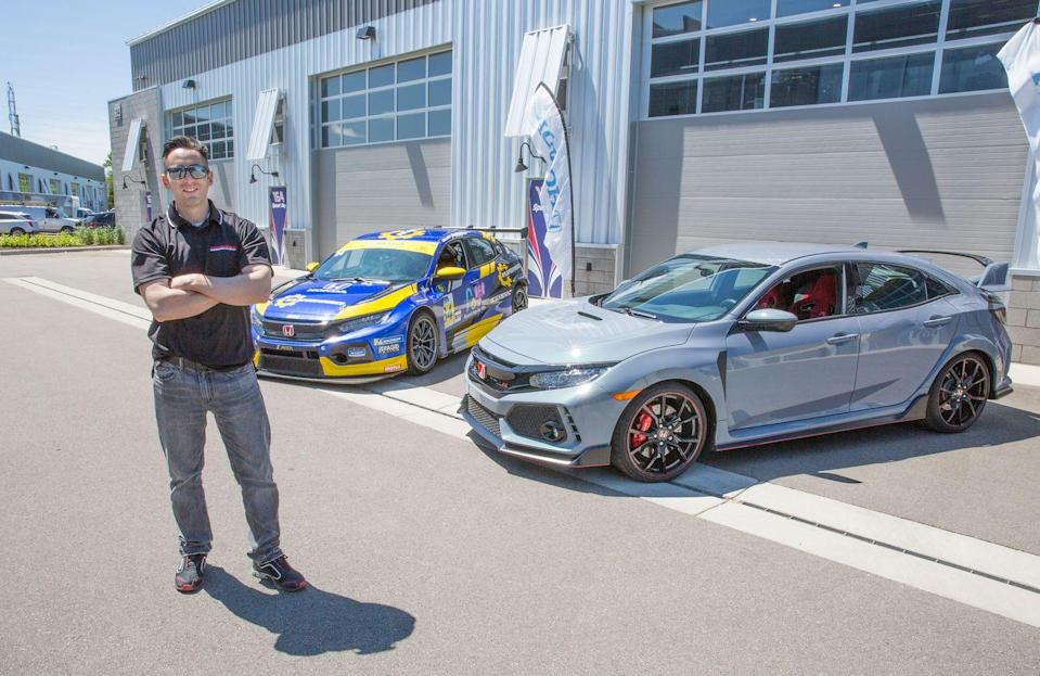 <p>In the U.S., Honda Performance Development supports the Civic Type R TCR in the Michelin Pilot Challenge. </p>
