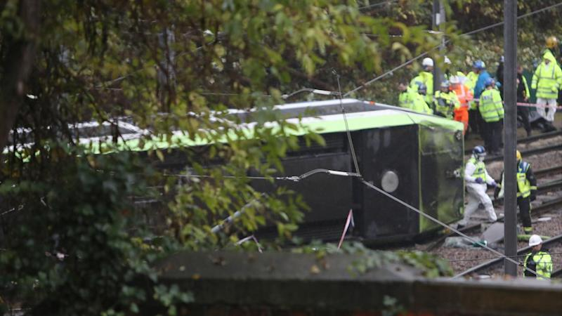 Death toll in London tram crash up to 7