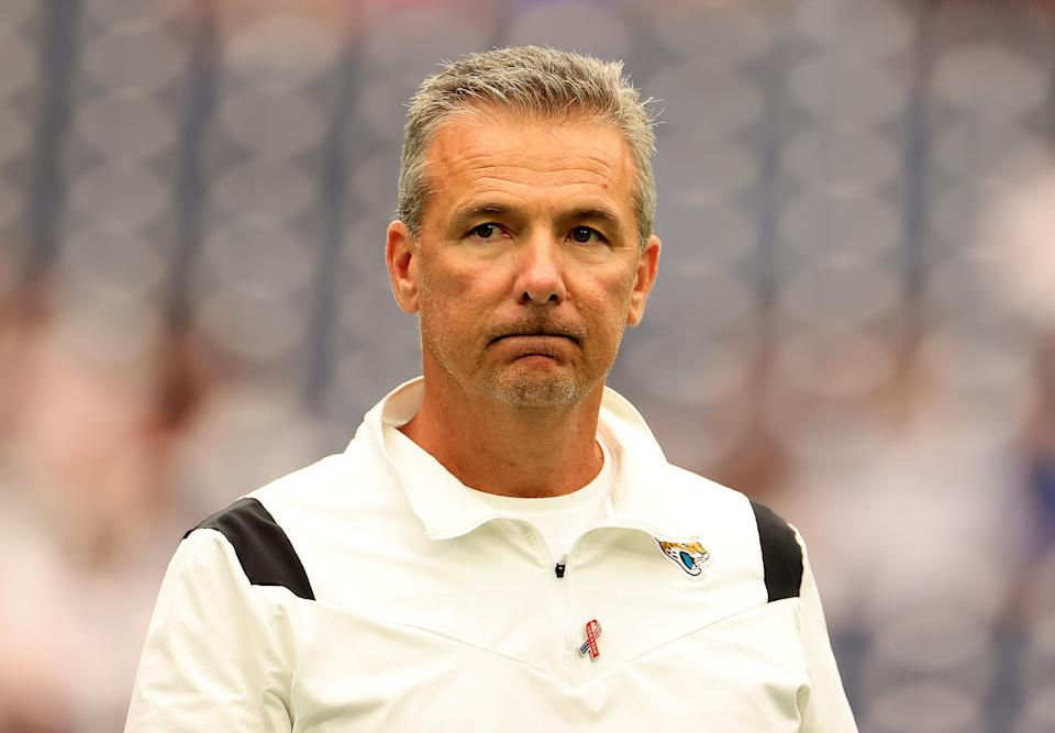 Urban Meyer with the Jaguars.