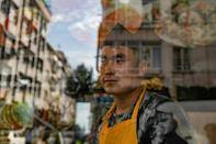 Ghawsuddin Mubariz, 20, said he felt welcome when he fled to Turkey from Afghanistan nearly two years ago but that has now changed (AFP/Yasin AKGUL)