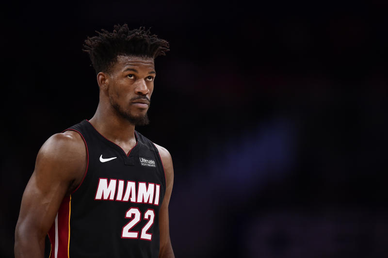 Jimmy Butler Hopes To Wear Blank Nameplate As Social Justice Message