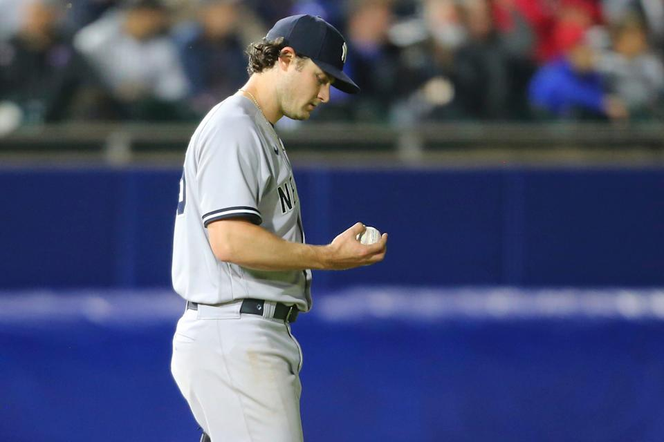 New York Yankees ace Gerrit Cole is among the pitchers upset with Major League Baseball's crackdown on foreign substances.