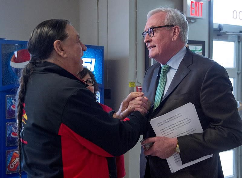 Kevin Vickers announces he'll seek New Brunswick Liberal leadership