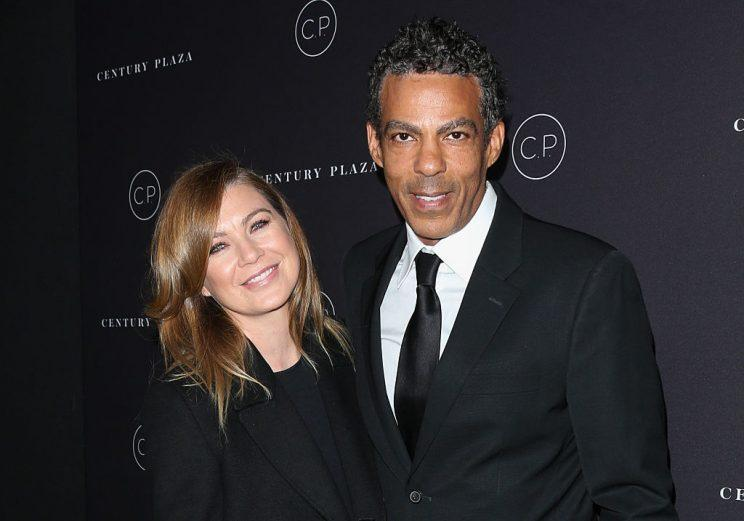 Ellen Pompeo and husband Chris Ivery (Photo: Getty Images)