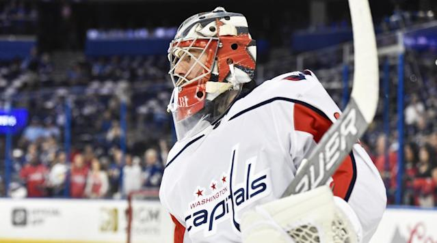 The Washington Capitals traded goalie Philipp Grubauer to the Colorado Avalanche ahead of the first round of the NHL Draft in June.