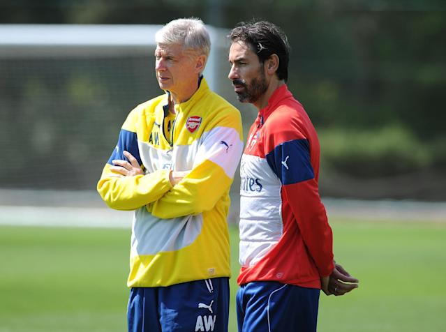 Pires is hopeful Wenger will stay at the club: Getty