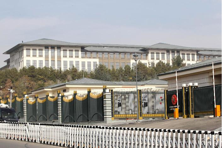 The new Ak Saray presidential palace (White Palace) was built at a reported cost of $350 million (AFP Photo/Adem Altan)