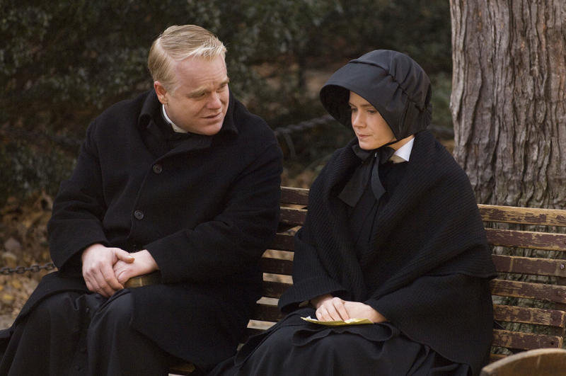 Philip Seymour Hoffman and Amy Adams in 'Doubt'