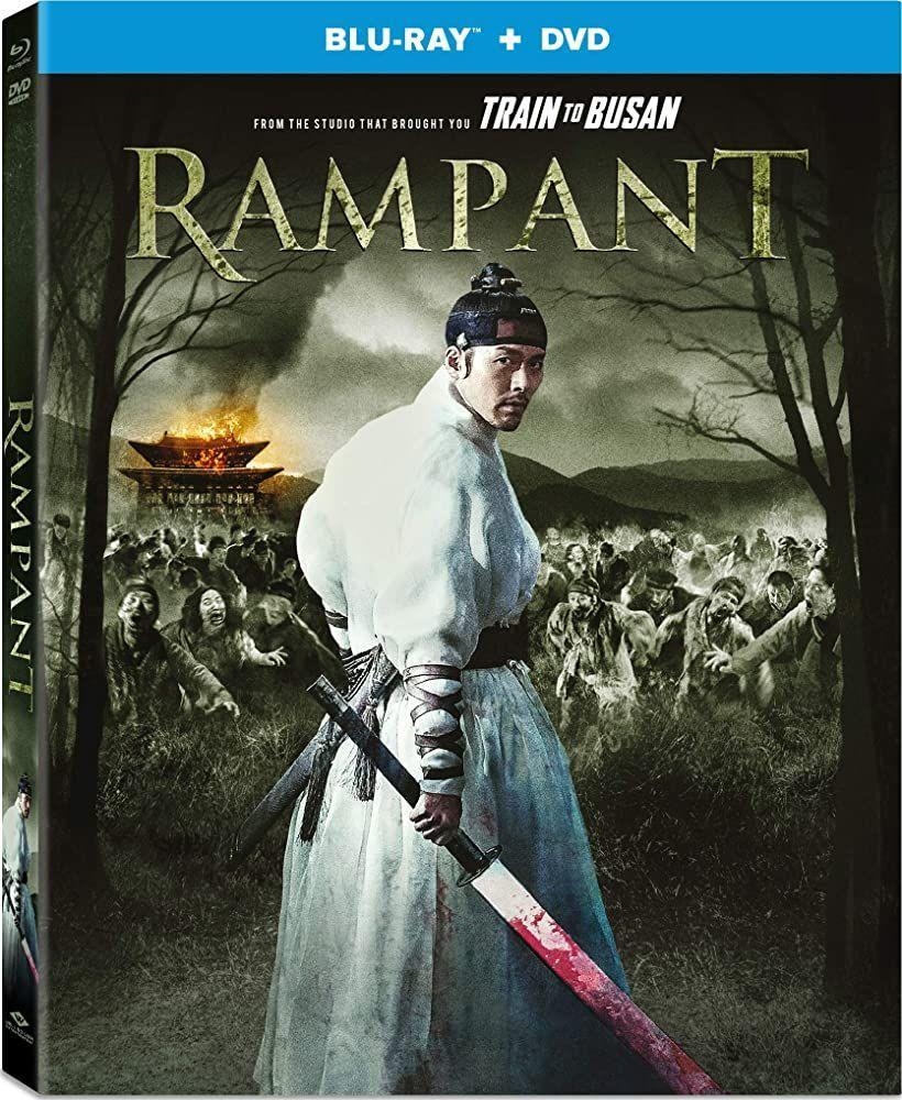 """<p>Take a zombie disaster movie and combine it with a historical period drama and you have <em>Rampant</em>, starring Hyun Bin (who you might recognize from the wildly popular K-drama <em><a href=""""https://www.oprahmag.com/entertainment/tv-movies/g30852507/best-korean-drama-series/?slide=2"""" rel=""""nofollow noopener"""" target=""""_blank"""" data-ylk=""""slk:Crash Landing on You"""" class=""""link rapid-noclick-resp"""">Crash Landing on You</a></em>). Skillful sword fight action scenes and thrilling zombies will keep your eyes glued to the screen until the very end.</p><p><a class=""""link rapid-noclick-resp"""" href=""""https://www.netflix.com/title/81034931"""" rel=""""nofollow noopener"""" target=""""_blank"""" data-ylk=""""slk:Watch Now"""">Watch Now</a></p>"""