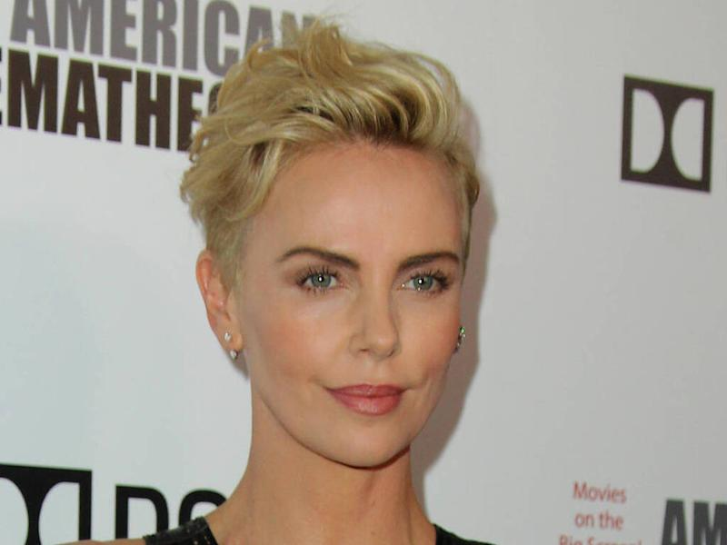 Charlize Theron is currently dating herself