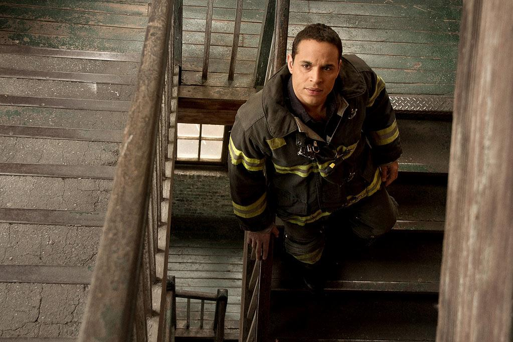 "Daniel Sunjata stars as Franco Rivera in the 7th season of ""Rescue Me."""